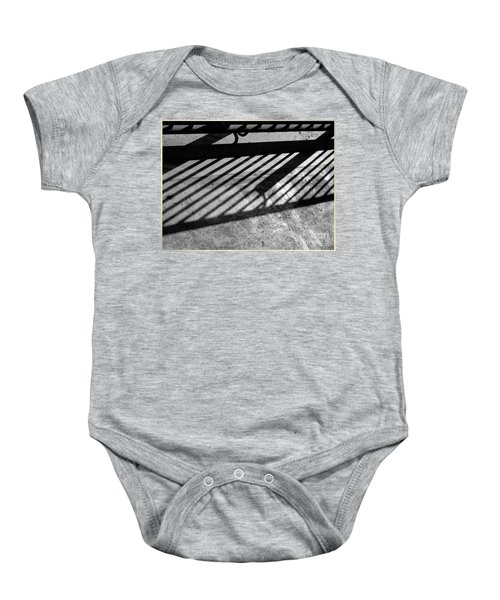 Don't Fence Me In Baby Onesie