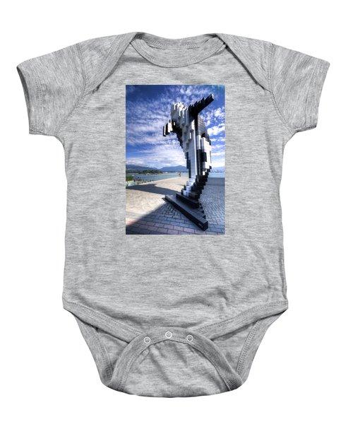 Douglas Coupland's Digital Orca Baby Onesie
