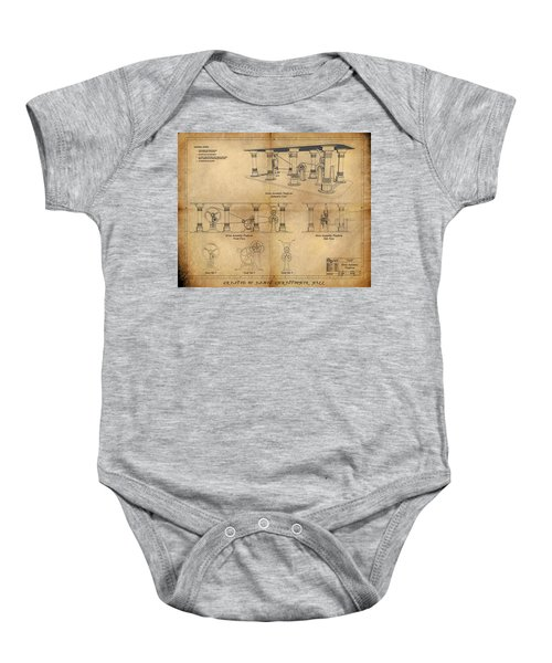 Drive Assembly Platform Baby Onesie