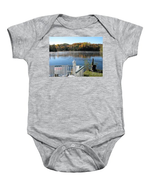 Early Autumn Morning Baby Onesie