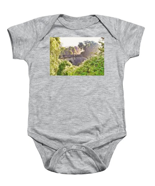 Early Morning Mist Baby Onesie
