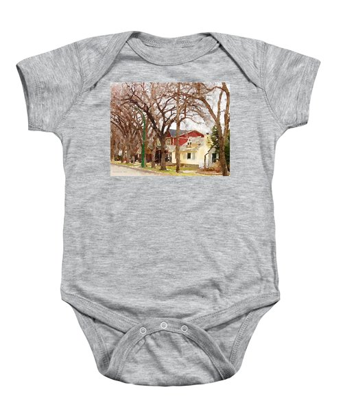 Early Spring Street Baby Onesie