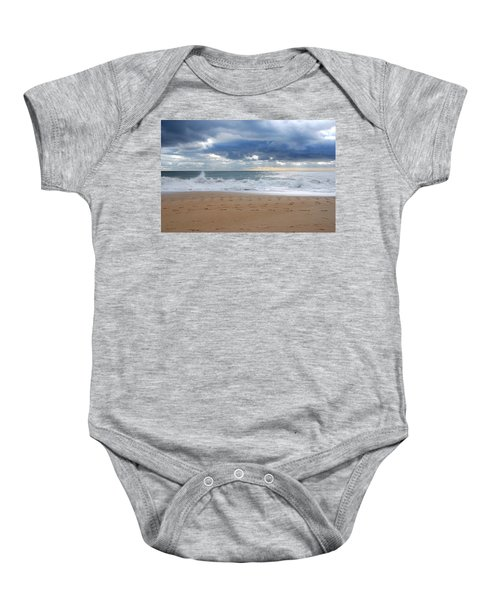 Earth's Layers - Jersey Shore Baby Onesie
