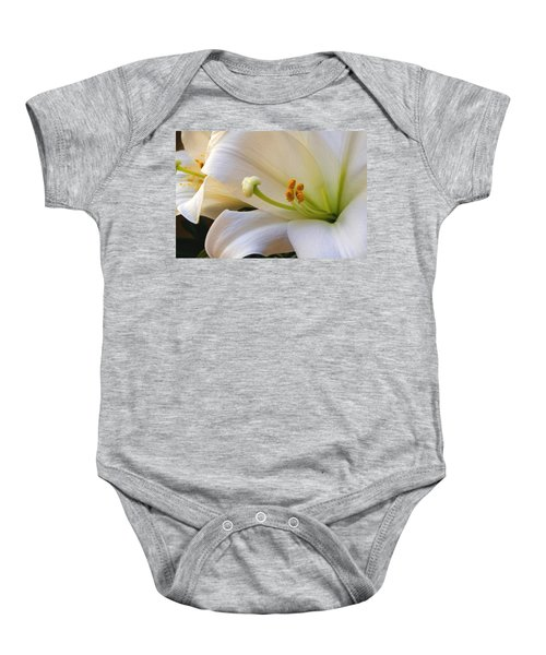 Easter Lily Baby Onesie