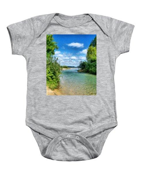 Elk River- Elk Rapids Michigan Baby Onesie