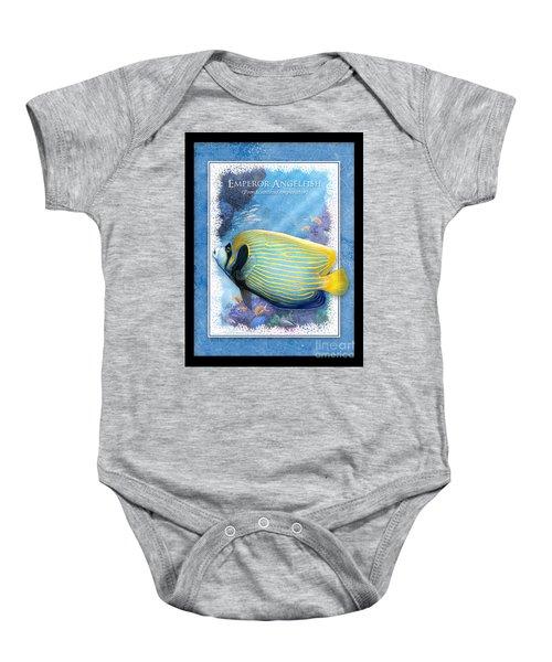 Emperor Angelfish Baby Onesie