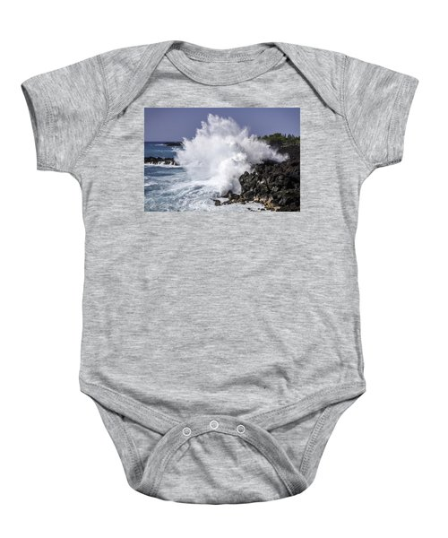 End Of The World Explosion Baby Onesie