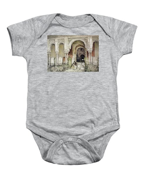 Entrance To The Hall Of The Two Sisters Baby Onesie