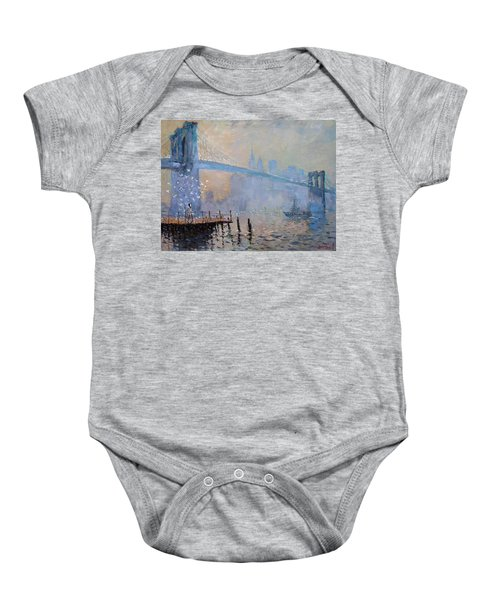 Erbora And The Seagulls Baby Onesie