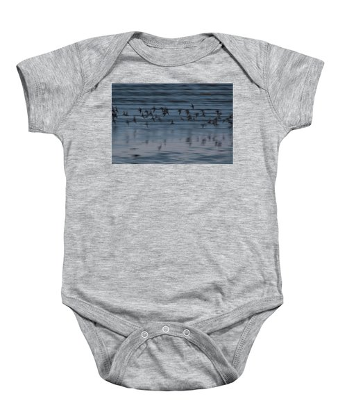 Baby Onesie featuring the photograph Evening Abstract by Alex Lapidus