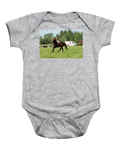 Eventing Fun Baby Onesie