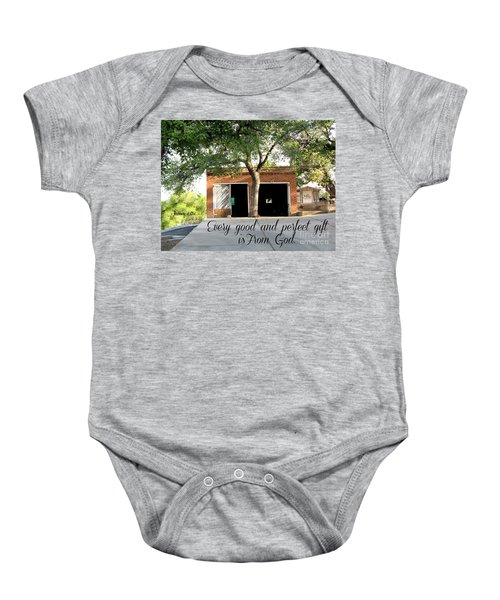 Every Good And Perfect Gift Baby Onesie