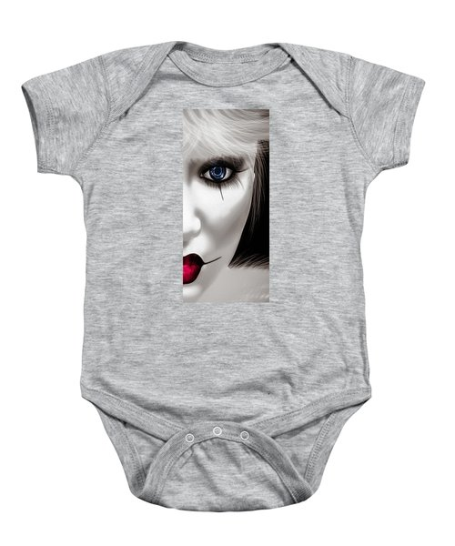 Eyes Of The Fool Baby Onesie by Bob Orsillo