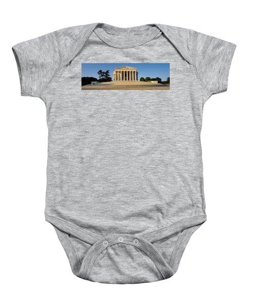 Facade Of A Memorial, Jefferson Baby Onesie