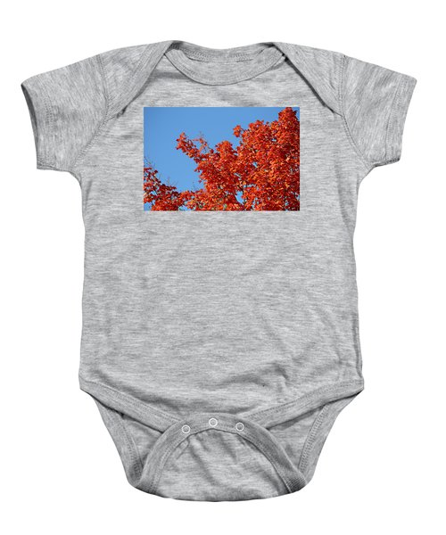 Fall Foliage Colors 20 Baby Onesie