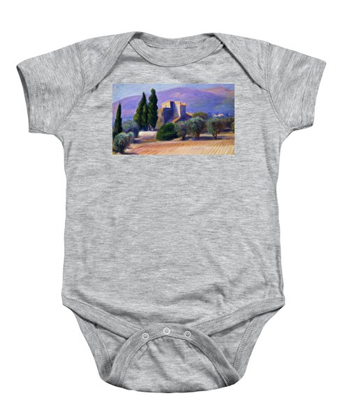 Farm House In Provence Baby Onesie