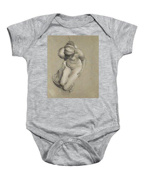 Female Nude  Baby Onesie