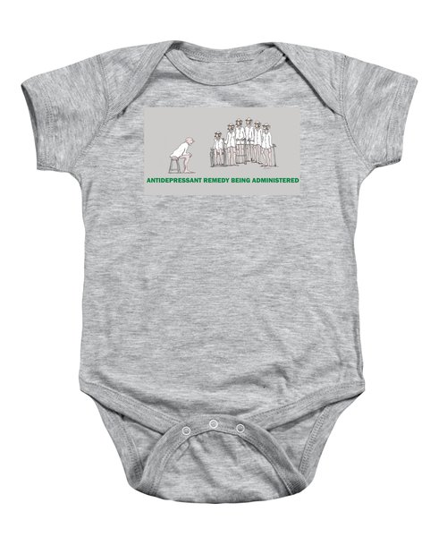 Feral Coots Alternative Medication II Baby Onesie
