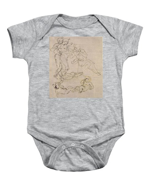 Figural Study For The Adoration Of The Magi Baby Onesie