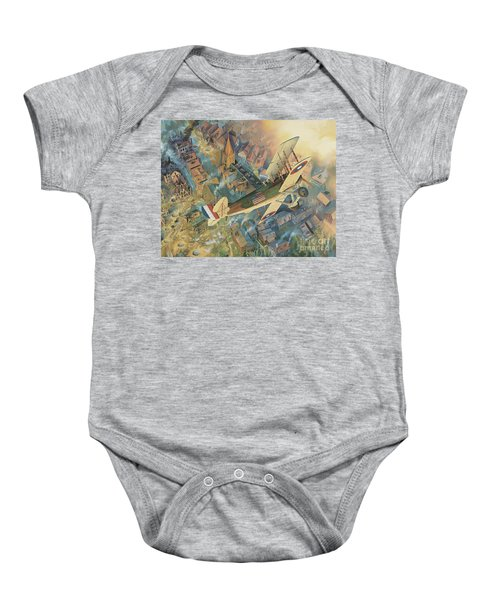 First Over The Front Baby Onesie