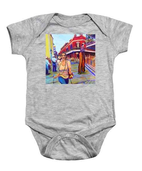 First Trip To New Orleans Baby Onesie