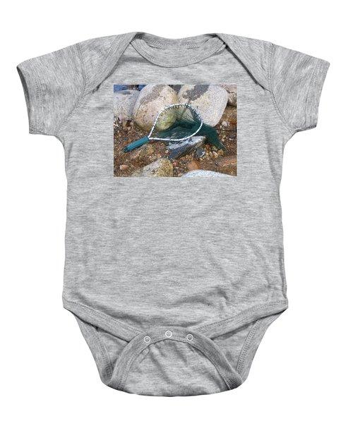 Fishing Net Baby Onesie