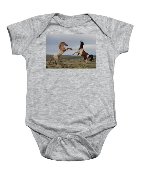 Fist Fight  Baby Onesie