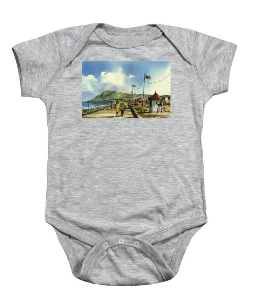 As I Walk Along The Promenade With An Independant Air  ....... Baby Onesie