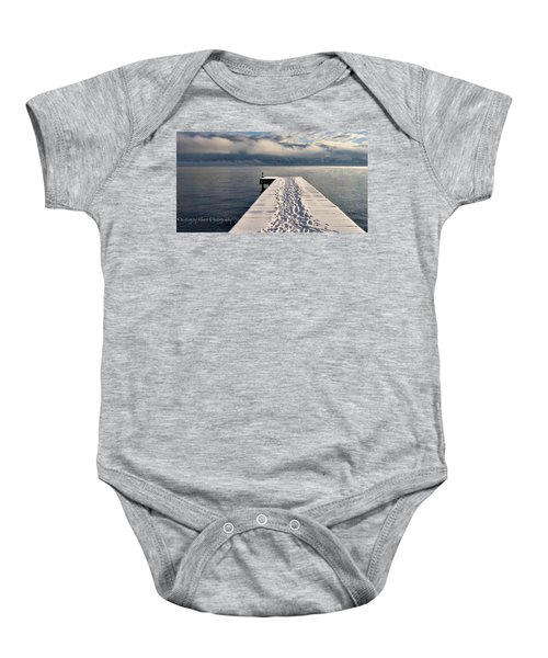 Flathead Lake Baby Onesie