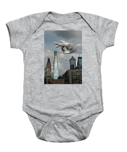 Flicking Philly Baby Onesie