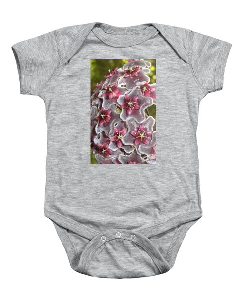 Floral Presence - Signed Baby Onesie