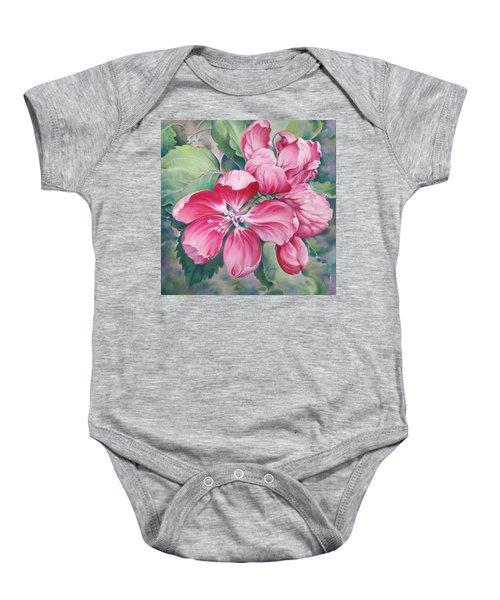 Flower Of Crab-apple Baby Onesie