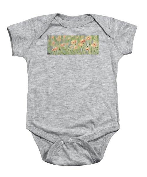 California Poppies Baby Onesie