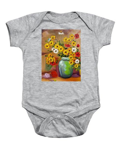 Flowers - Still Life Baby Onesie