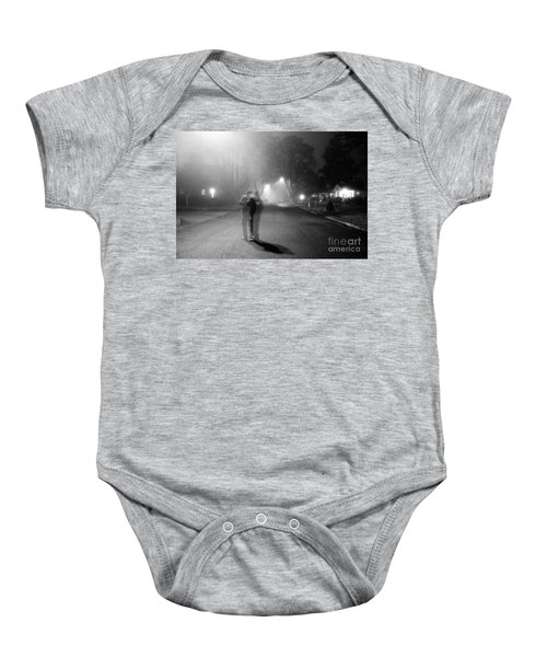 Foggy Night Baby Onesie
