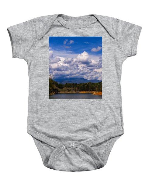 Fontana Lake Storm 2 Baby Onesie