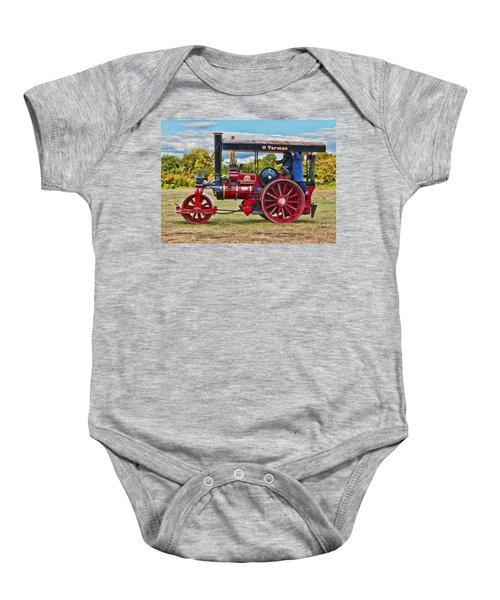Fowler Road Roller Baby Onesie