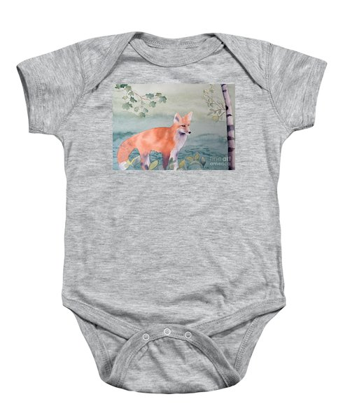 Fox And Birch Baby Onesie