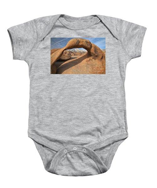 Framing The Sierras Baby Onesie