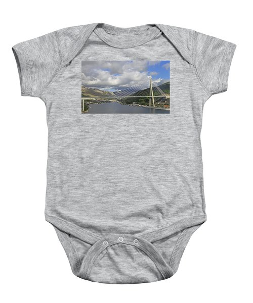 Franjo Tudman Bridge Baby Onesie