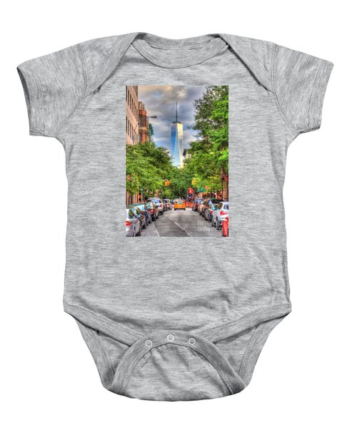 Freedom Tower Baby Onesie