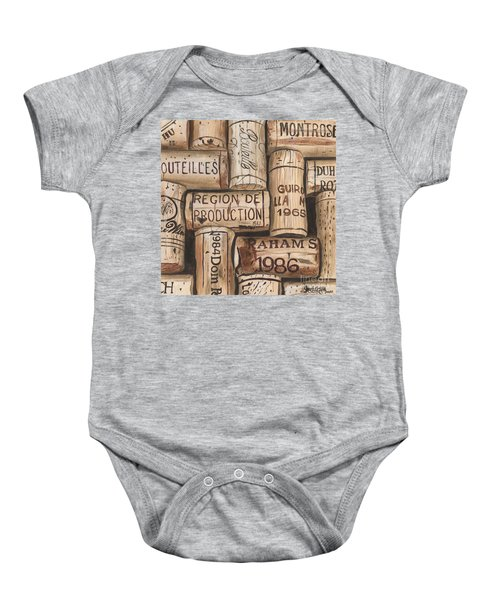 French Corks Baby Onesie