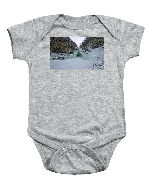 Frozen Waterfalls Baby Onesie