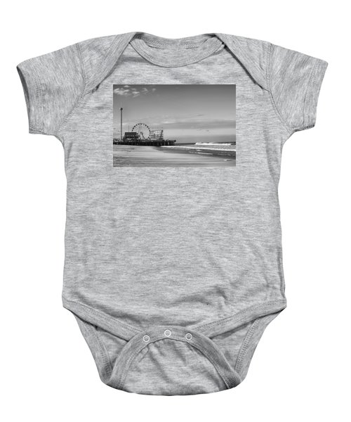 Funtown Pier Seaside Heights New Jersey  Baby Onesie
