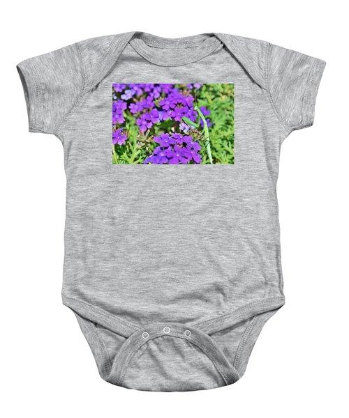 Garden Prayer Baby Onesie