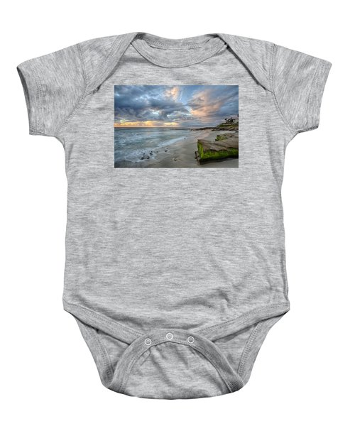 Gentle Sunset Baby Onesie
