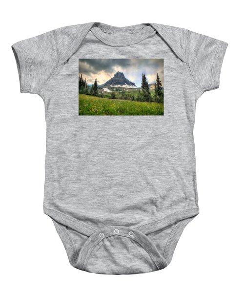 Glacier Meadows Baby Onesie