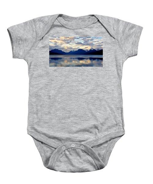 Glacier Morning Baby Onesie
