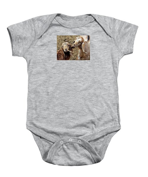 Goats #2 Baby Onesie