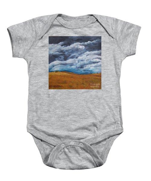 Golden Fields Baby Onesie